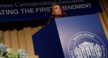 The Muthaeffing White House Correspondents Wine Mixer Dinner